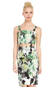 Wild Flower Print Dress in Multi-colored S - L | DAILYLOOK