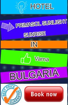 Hotel Primasol Sunlight Sunrise in Varna, Bulgaria. For more information, photos, reviews and best prices please follow the link. #Bulgaria #Varna #hotel #travel #vacation