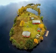Jani Ylinampa is a nature photographer based in Rovaniemi, Lapland. His latest project has seen him photograph the Kotisaari island at different seasons Little Island, Small Island, Destination Voyage, Arctic Circle, Aerial Photography, Beautiful Islands, Landscape Photographers, Four Seasons, Belle Photo