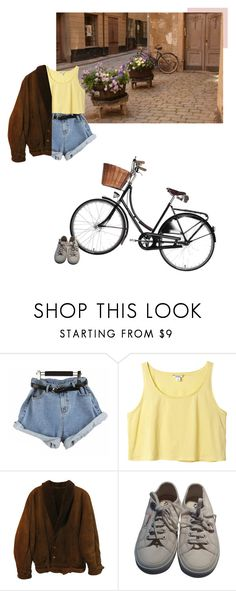 """at the end of the world, or the last thing I see"" by the-cheap-bouquet ❤ liked on Polyvore featuring CO, Monki, Zoot and Superga"