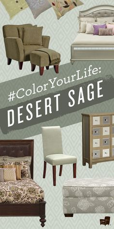 A neutral with power, Pantone's Desert Sage could be your home's perfect color!
