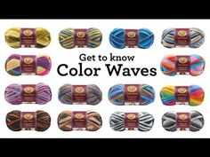 Color Waves Yarn : Product Information : Lion Brand Yarn