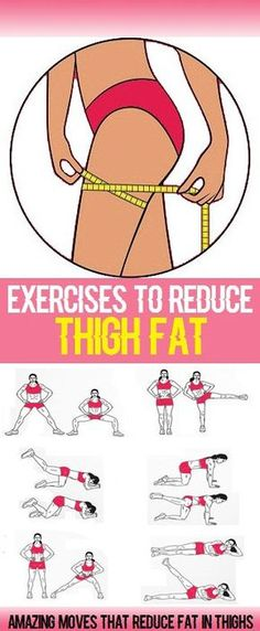 Workout Exercises: Inner-thigh fat can be hard to target and is often. Workout Exercises: Inner-thigh fat can be hard to target and is often. per il fitness Fitness Workouts, Easy Workouts, At Home Workouts, Fitness Motivation, Fitness Plan, Yoga Fitness, Exercise Motivation, Fitness Weightloss, Muscle Fitness