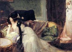 lapetitemandarine:  Vertige, Denis Etcheverry circa 1903