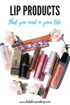 MY FAVORITE LIP PRODUCTS | Kate Loves Makeup