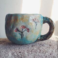 63d68cd4640f Кружки и чашки ручной работы. Ярмарка Мастеров - ручная работа кружки с  травяным чаем. Handmade.