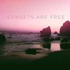 #elizabethkoh #freedom #sunset #sunsetsarefree #malibu #california #elmatador #beach #cliffs #namaste #motherearth #pch #travel #inspire #quote #pacific #westcoast http://ift.tt/1OS5ww9