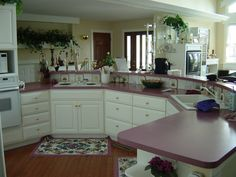 Small Ranch Home Decorating Ideas | Free Download Small Dining Room Decorating Ideas Two Story House Plans . . a 1960's ranch Kitchen redone.