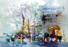 Urban Watercolours by Herry Arifin