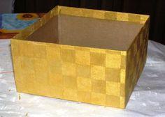 Caja Decorada con Papel Crepé - 1001 Consejos