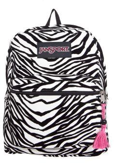 Mochila Jansport Super FX Zebra