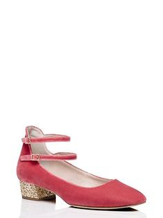 marcellina heels, antique rose