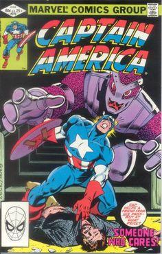 Captain America # 270 by Mike Zeck & John Beatty