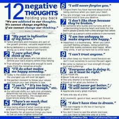 Good tips for overcoming negativity