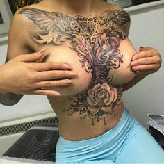 "Tattooed Girls/Artists on Instagram: ""Follow @reddee12 Artist: @craigbjtattoos"":"