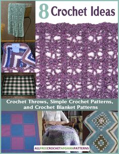 ... Crochet Ideas for Crochet Throws, Simple Crochet Patterns, and Crochet