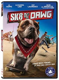 A cute dog AND skateboarding? The new Dawg movie stars an adorable and talented dog (voiced by David Arquette), and there Mans Best Friend, Best Friends, Skateboard Companies, David Arquette, Joey Lawrence, Version Francaise, Movie Releases, Online Gratis, Movie Trailers