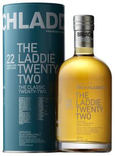 Bruichladdich The Laddie 22, the new age expression - part of their Classic Range