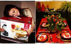 Lucy Hale (@lucyhale89 no Insta) ficou feliz da vida com o presente que ganhou: um liquidificador para fazer muitas vitaminas! Já Shay Mitchell (@shaym) provou que o Natal foi em grande estilo: olha que linda a decoração da mesa!