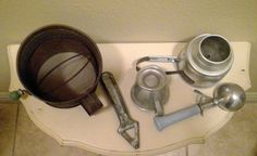 A personal favorite from my Etsy shop https://www.etsy.com/listing/488210781/antique-kitchen-gadgets-5-pieces