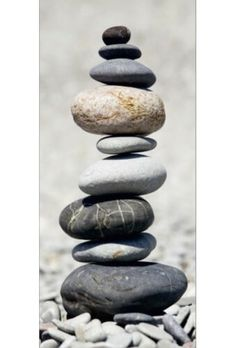 The Art of Balancing Stones. The Art of Balancing Stones. Pebble Stone, Pebble Art, Stone Art, Zen Rock, Rock Art, Stone Balancing, Stone Cairns, Rock Sculpture, Stone Sculptures