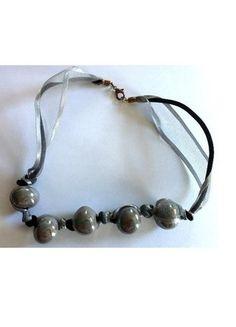 A vendre sur #vintedfrance ! http://www.vinted.fr/accessoires/colliers/15945742-beau-collier-ras-du-cou-grosses-boules-reflets-nacres