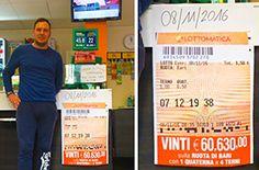 Punta 1 euro e mezzo al lotto e ne vince oltre 60 mila - Ossola 24 notizie