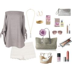 Casual summertime shopping by oceans808 on Polyvore featuring polyvore, fashion, style, TIBI, MANGO, Alice + Olivia, Flora Bella, Lana, YooLa, Eddie Borgo, Coach, Casetify, Clinique, Urban Decay and ACORELLE