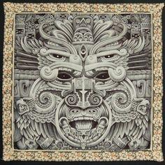 Indian Tattoo Design, Aztec Tattoo Designs, Aztec Designs, Aztec Tattoos Sleeve, Aztecas Art, Aztec Symbols, Mayan Tattoos, Chicano Art Tattoos, Aztec Culture