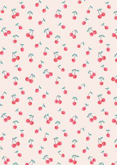 cherry print by KIND OF STYLE