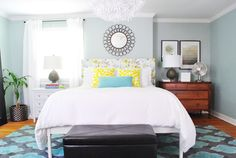 mismatched dresser and nightstand - Google Search