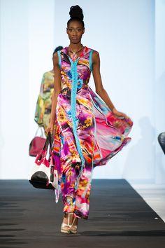 Designer Alphadi ~Very Colorful!   #africanfashion #africanedesigners