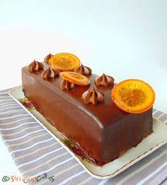 Tort Dobos cu portocale - un desert regal - simonacallas Sweet Tarts, Dessert Recipes, Desserts, Something Sweet, Butter Dish, Caramel, Pudding, Sweets, Cookies
