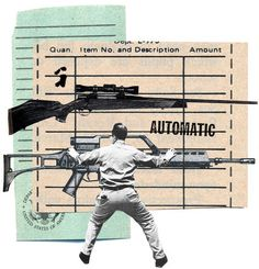 For over 80 years, the U.S. has enforced a tough and effective gun control law that most Americans have never heard of. Find out in this Editorial about the 1934 law that makes a good case against the N.R.A. (Illustration:  Joanna Neborsky)