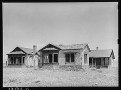 "Old ranch house of ""Walking X"" Ranch near Marfa, Texas. This house was built about 1870 and was a stagecoach stop"