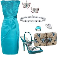 """""""Crystal Butterflies"""" by bethherrmann on Polyvore"""