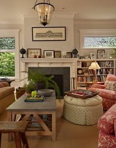 updated craftsman bungalow | Craftsman Bungalow reference images / Updated craftsman living room