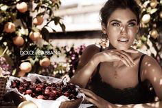 #houseofbeauty | Bianca Balti Stars in the Dolce & Gabbana Jewelry 2012 Campaign by Giampaolo Sgura