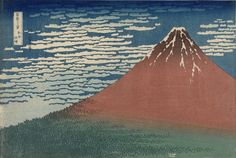 Fine Wind, Clear Weather (Gaifū kaisei), also known as Red Fuji