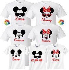 ad42ca7fe where to buy custom disney shirts. Rebecca Miller · Disney shirts · Mom And  Dad And Family Mickey Minnie NEW Disney funny cute ...