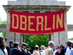 Oberlin, Ohio  college days