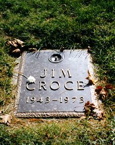 Jim Croce (1943 - 1973) - Musician. Haym Salomon Memorial Park 200 Moores Road Frazer Chester County Pennsylvania  USA