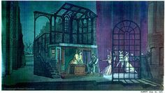 sweeney todd scenography