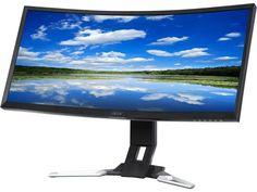 Afbeeldingsresultaat voor ultra wide monitor bended desktop