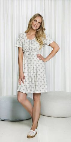 "Inspire your nights with this romantic and sohisticated ""Ivy"" nightgown by Vamp! http://www.vampfashion.com/index.php/collections/P1025-nightgown-50-cotton-and-50-modal #vampfashion #nightgown"
