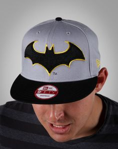 New Era Batman Snap Back Flatbill