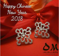 May this new year bring you love, joy and peace. Happy Chinese New Year! #chinese #newyear #omjewellers #omjewelaus #perth #brisbane #gold #diamond #jewellery #earrings #whitegold #makeherhappy #peace #love #happiness