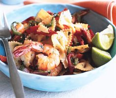 Sonoran Shrimp Scampi from Epicurious.com #myplate #protein