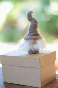 Tomte Income Tax Accountant is sentenced to work in The Box of Shame because his accounts were found 'wanting.'
