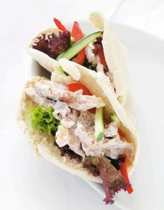 Inneklemt pitamiddag Tacos, Ethnic Recipes, Foods, Food Food, Food Items